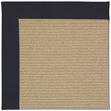 Capel Zoe Brown Indoor/Outdoor Area Rug; Square 4'