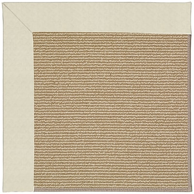 Capel Zoe Brown Indoor/Outdoor Area Rug; Square 8'
