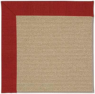 Capel Zoe Light Brown Indoor/Outdoor Area Rug; Rectangle 8' x 10'