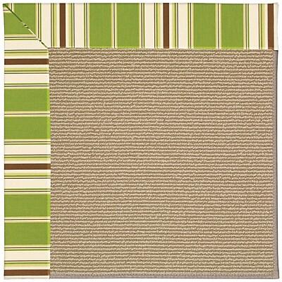 Capel Zoe Light Brown Indoor/Outdoor Area Rug; Rectangle 2' x 3'