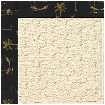 Capel Zoe Off White Indoor/Outdoor Area Rug; Square 8'