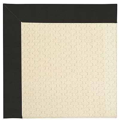 Capel Zoe Off White Indoor/Outdoor Area Rug; Square 4'