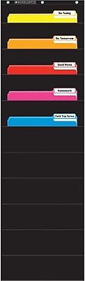 Scholastic Teaching, File Organizer Pocket Chart Black (SC-573276)