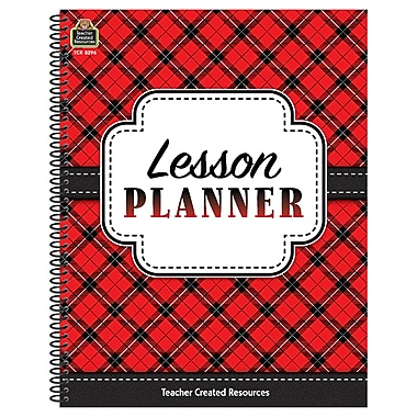 Teacher Created Resources, Plaid Lesson Planner (TCR8296)