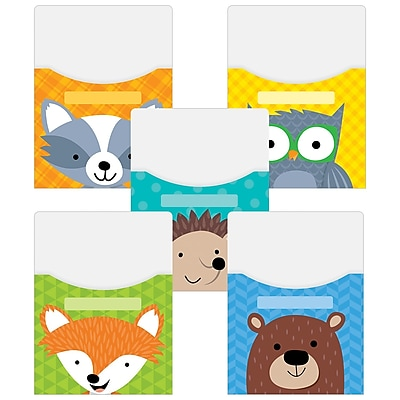 Creative Teaching Press, Woodland Friends Library Pockets Extra Large 9x12