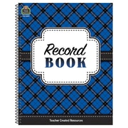 Teacher Created Resources, Plaid Record Book (TCR8297)