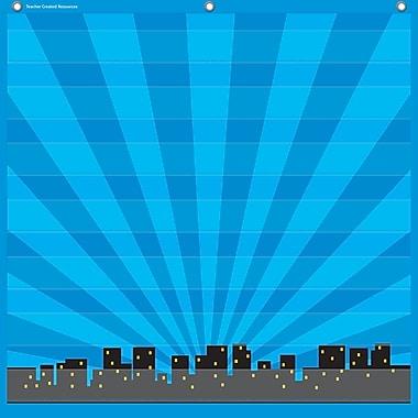 Teacher Created Resources 7 Pocket Pocket Chart, Superhero (TCR20743)