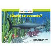 Creative Teaching Press Paperback, Quien se esconde? (Who's Hiding?) Learn to Read Spanish Book(CTP8254)