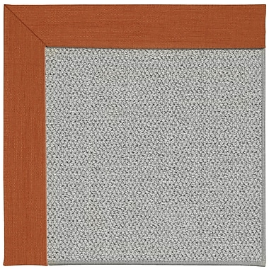 Capel Inspirit Silver Machine Tufted Persimmon/Gray Area Rug; Rectangle 3' x 5'