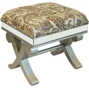 EC World Imports Urban Designs Wood Ottoman Stool Bench