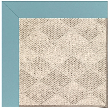 Capel Zoe Sea Blue Indoor/Outdoor Area Rug; Rectangle 3' x 5'