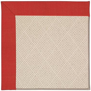 Capel Zoe Light Brown Indoor/Outdoor Area Rug; Rectangle 4' x 6'