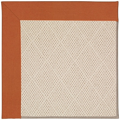 Capel Zoe Cream Indoor/Outdoor Area Rug; Rectangle 5' x 8'