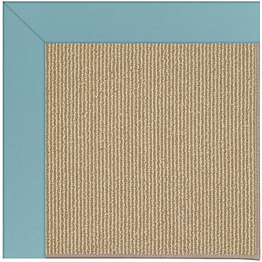 Capel Zoe Brown Indoor/Outdoor Area Rug; Rectangle 2' x 3'