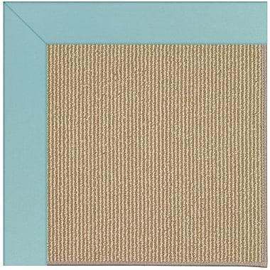Capel Zoe Brown Indoor/Outdoor Area Rug; Rectangle 7' x 9'