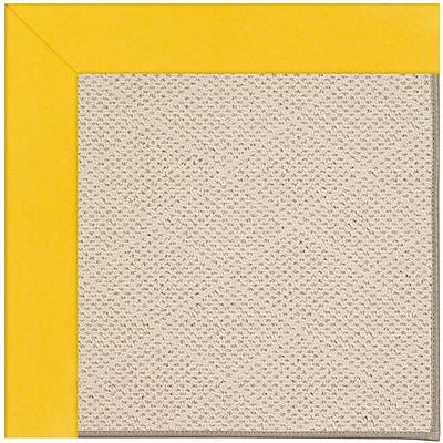 Capel Zoe Cream Indoor/Outdoor Area Rug; Rectangle 2' x 3'