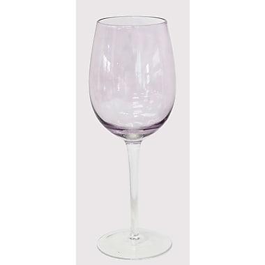 Euro Ceramica Red Wine Glass Set (Set of 4); Purple