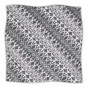 KESS InHouse Silver Lace Throw Blanket; 40'' L x 30'' W