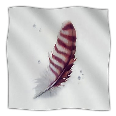 KESS InHouse The Feather Throw Blanket; 60'' L x 50'' W