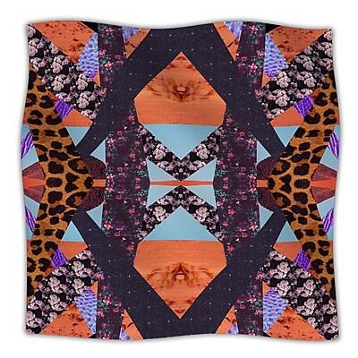 KESS InHouse Pillow Kaleidoscopic Throw Blanket; 80'' L x 60'' W
