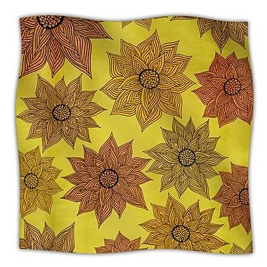 KESS InHouse Its Raining Flowers Throw Blanket; 40'' L x 30'' W