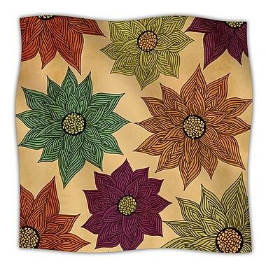 KESS InHouse Color Me Floral Throw Blanket; 40'' L x 30'' W