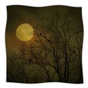 KESS InHouse Starry Night Throw Blanket; 40'' L x 30'' W