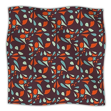 KESS InHouse Retro Tile Throw Blanket; 60'' L x 50'' W
