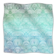 KESS InHouse Clouds In The Sky Throw Blanket; 40'' L x 30'' W