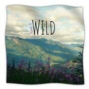 KESS InHouse Keep It Wild Throw Blanket; 60'' L x 50'' W