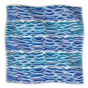 KESS InHouse The High Sea Throw Blanket; 40'' L x 30'' W