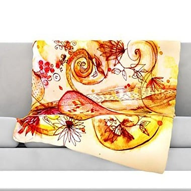 KESS InHouse Tree of Love Fleece Throw Blanket; 40'' L x 30'' W