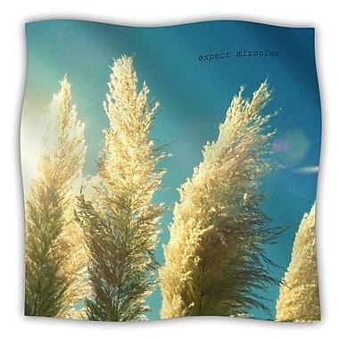 KESS InHouse Ornamental Grass Throw Blanket; 80'' L x 60'' W