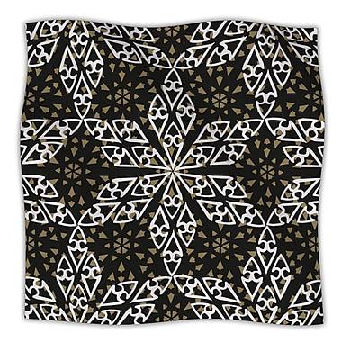 KESS InHouse Ethnical Snowflakes Throw Blanket; 40'' L x 30'' W
