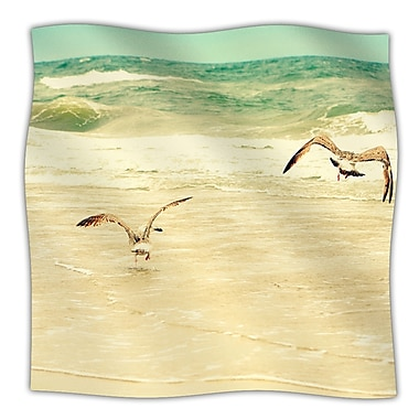 KESS InHouse Karate Kid Pose Throw Blanket; 80'' L x 60'' W