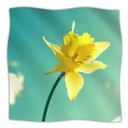 KESS InHouse Daffodil Throw Blanket; 40'' L x 30'' W