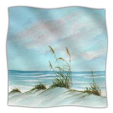 KESS InHouse Sea Oats Throw Blanket; 60'' L x 50'' W