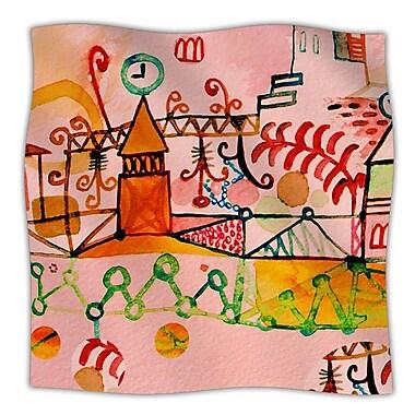 KESS InHouse Happy Town Throw Blanket; 40'' L x 30'' W