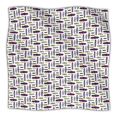 KESS InHouse Pods Throw Blanket; 80'' L x 60'' W