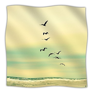 KESS InHouse Across The Endless Sea Throw Blanket; 60'' L x 50'' W