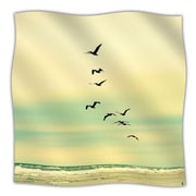 KESS InHouse Across The Endless Sea Throw Blanket; 80'' L x 60'' W