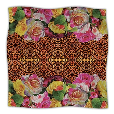 KESS InHouse New Rose Eleo Throw Blanket; 60'' L x 50'' W