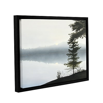 ArtWall Morning Fog Hires by Ken Kirsh Framed Photographic Print on Wrapped Canvas; 36'' H x 48'' W
