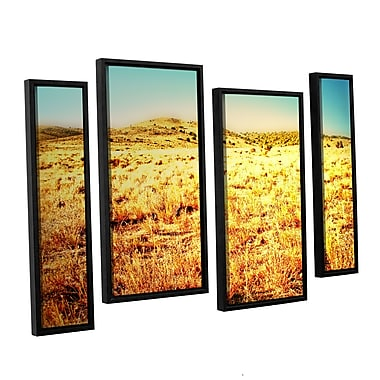 ArtWall Take A Seat by Mark Ross 4 Piece Framed Photographic Print Set; 24'' H x 36'' W x 2'' D