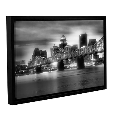 ArtWall Gritty City by Steve Ainsworth Framed Photographic Print on Wrapped Canvas; 12'' H x 18'' W