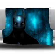 KESS InHouse Dark Knight by Mandie Manzano Fleece Throw Blanket; 90'' H x 90'' W x 1'' D