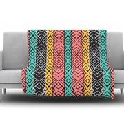 KESS InHouse Artisian by Pom Graphic Design Fleece Throw Blanket; 40'' H x 30'' W x 1'' D