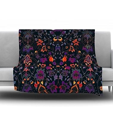 KESS InHouse Bali Tapestry by Nikki Strange Fleece Throw Blanket; 60'' H x 50'' W x 1'' D
