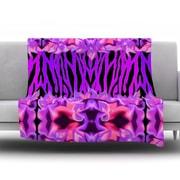 KESS InHouse Cezarra by Artist Name Fleece Throw Blanket; 80'' H x 60'' W x 1'' D