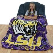 College Covers NCAA LSU Throw Blanket